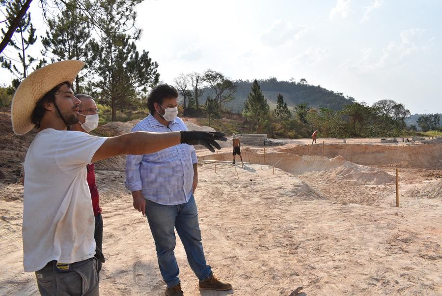 Pista referência para o esporte olímpico está sendo construída em Amparo