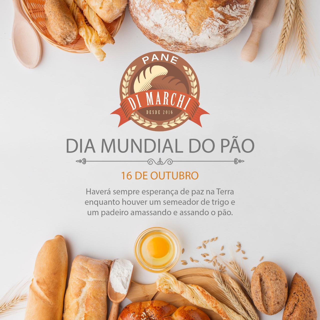 No Dia Mundial do Pão tem Rústico Tomate Seco, Baguetes e Brioches na Pane Di Marchi