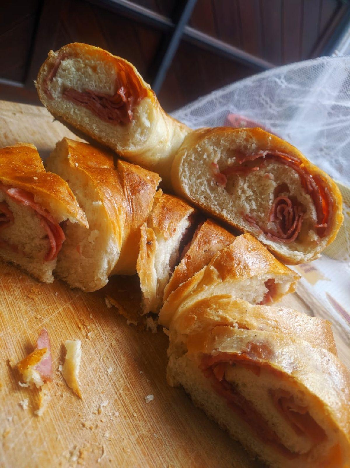 Tortano, Filão Italiano e Cinnamon Roll na Pane Di Marchi, para fechar a semana