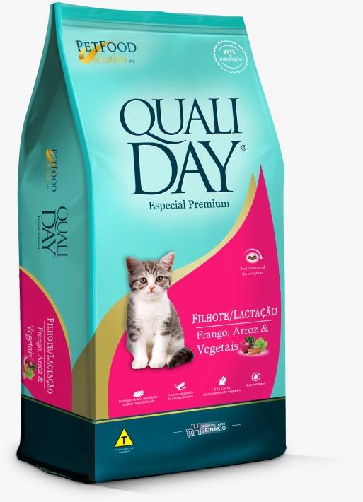 Qualiday para gatos filhotes e fêmeas lactantes é na Nova Pett