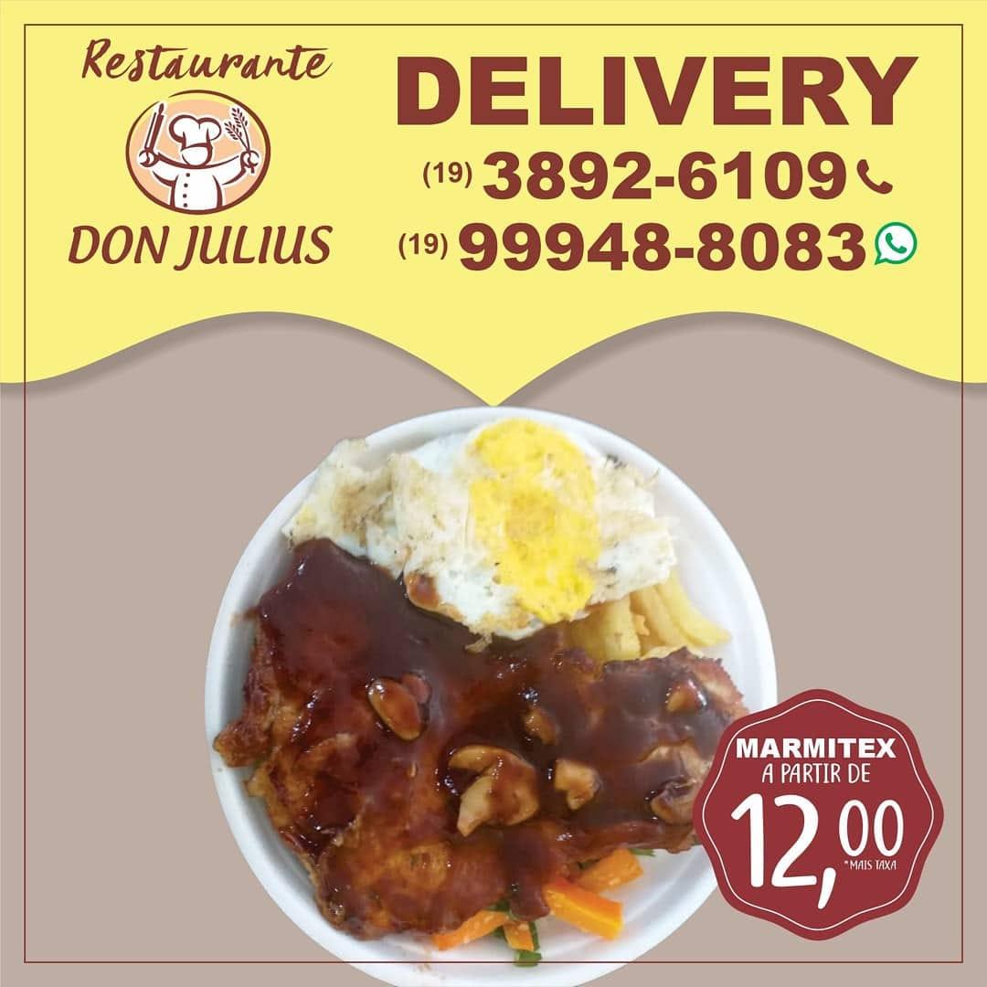 Don Julius tem nhoque de mandioquinha com filé de frango à milanesa, nesta sexta-feira