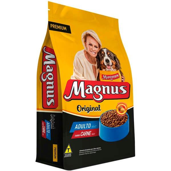 Magnus Original Sabor Carne é na Nova Pett