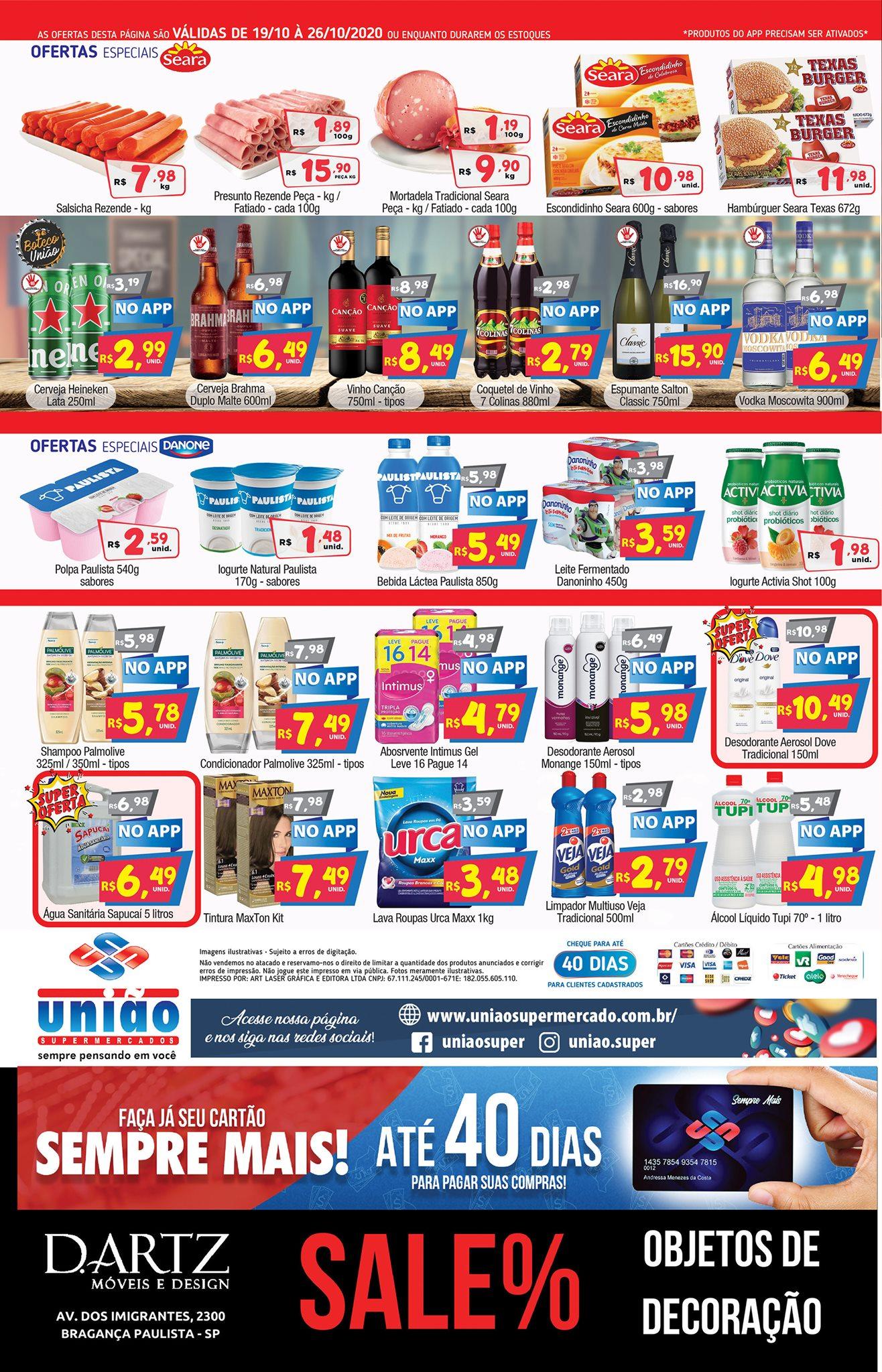União Supermercados tem ofertas para o seu fim de semana