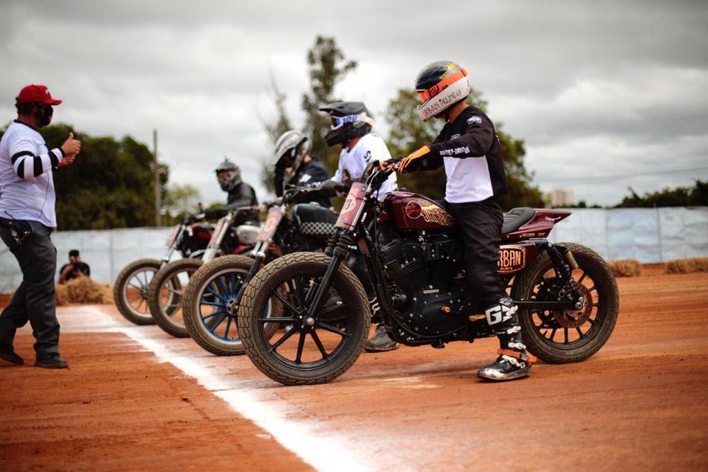 Harley-Davidson do Brasil anuncia parceria com piloto de Flat Track Marcelo Simões