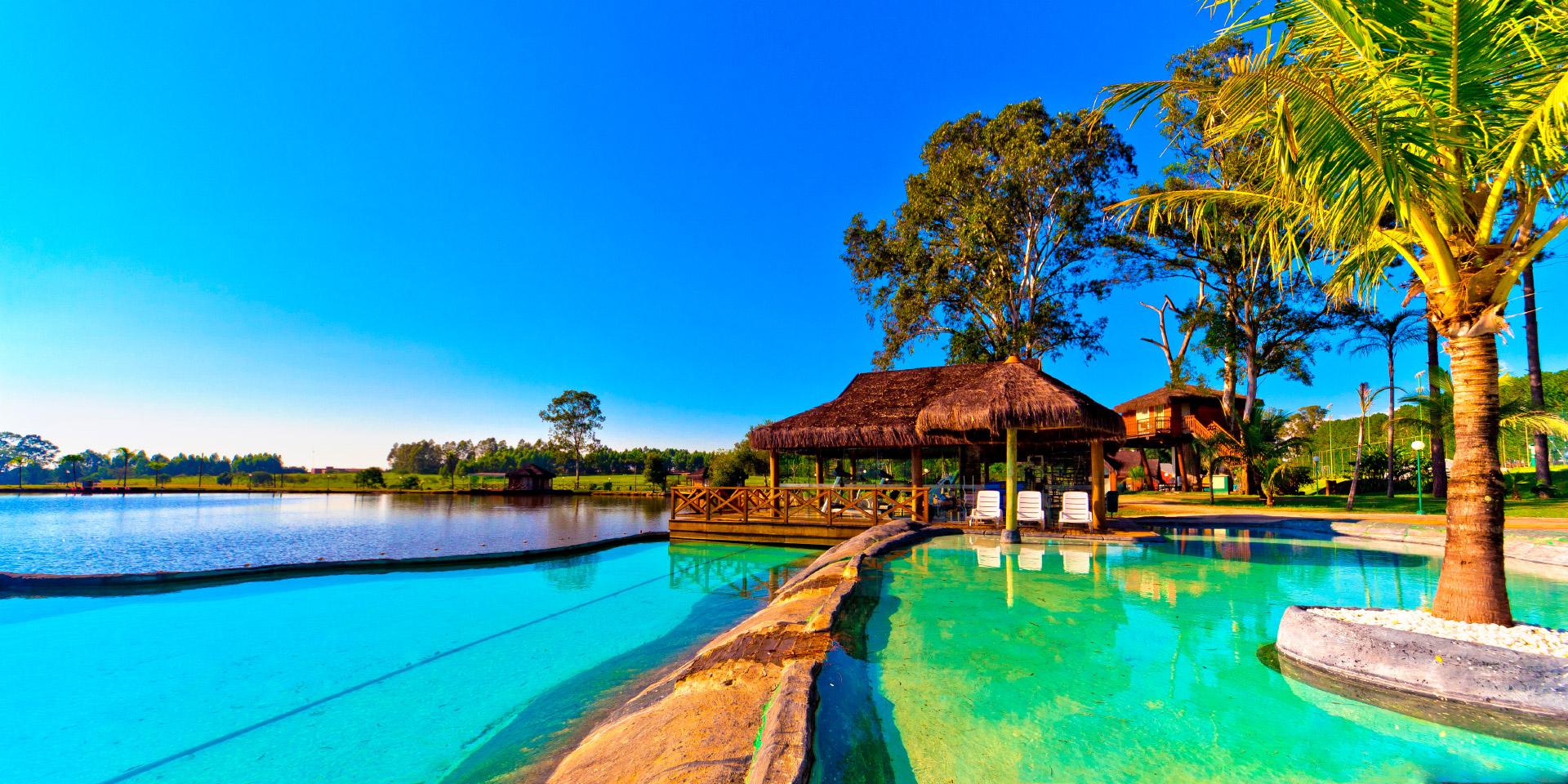 Conheça os melhores resorts do interior paulista para curtir nos finais de semana
