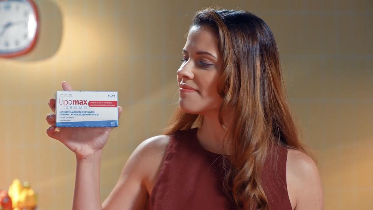 Campanha do Lipomax Cromo lança novo suplemento que auxilia no combate ao sobrepeso