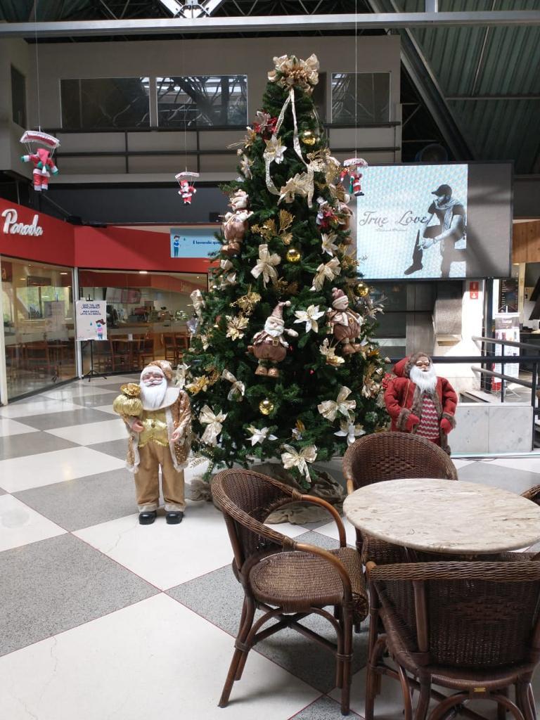Shopping SerrAzul já está em clima de Natal