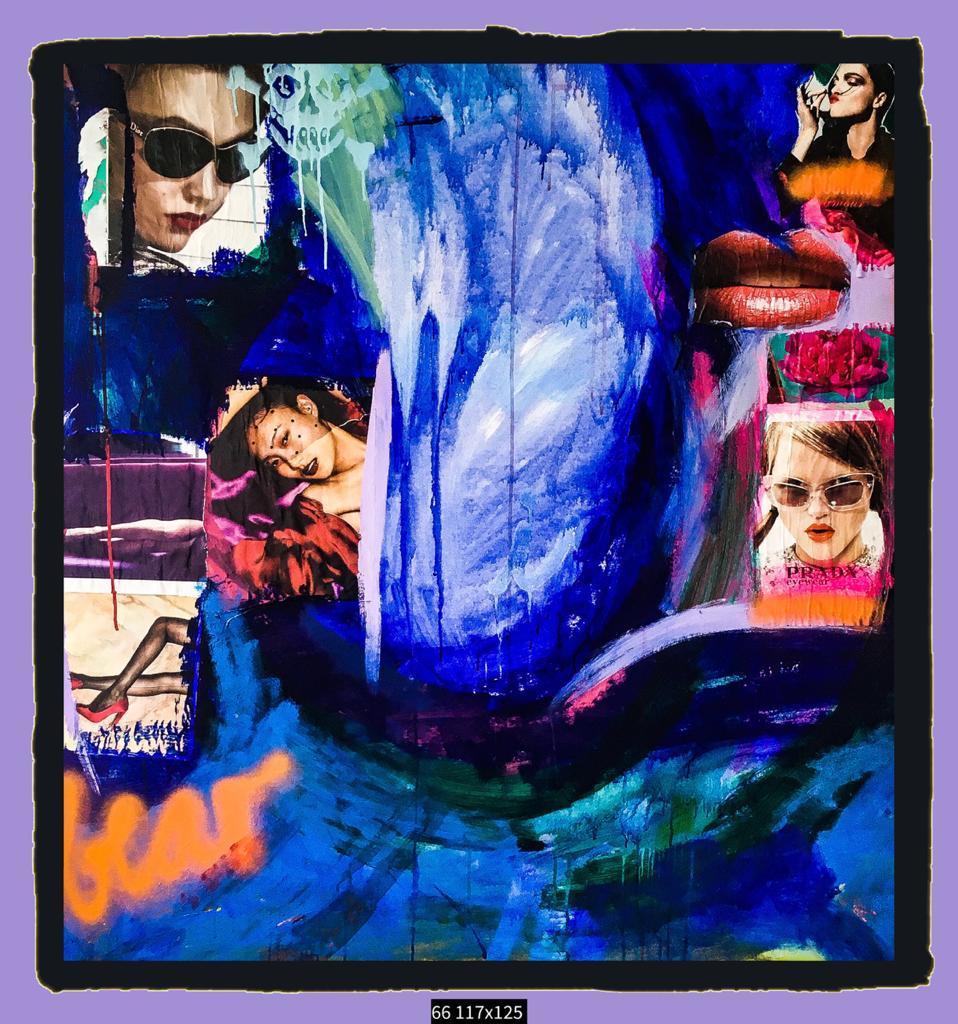 Artista plástica paulistana Patricia Mesquita expõe em Serra Negra
