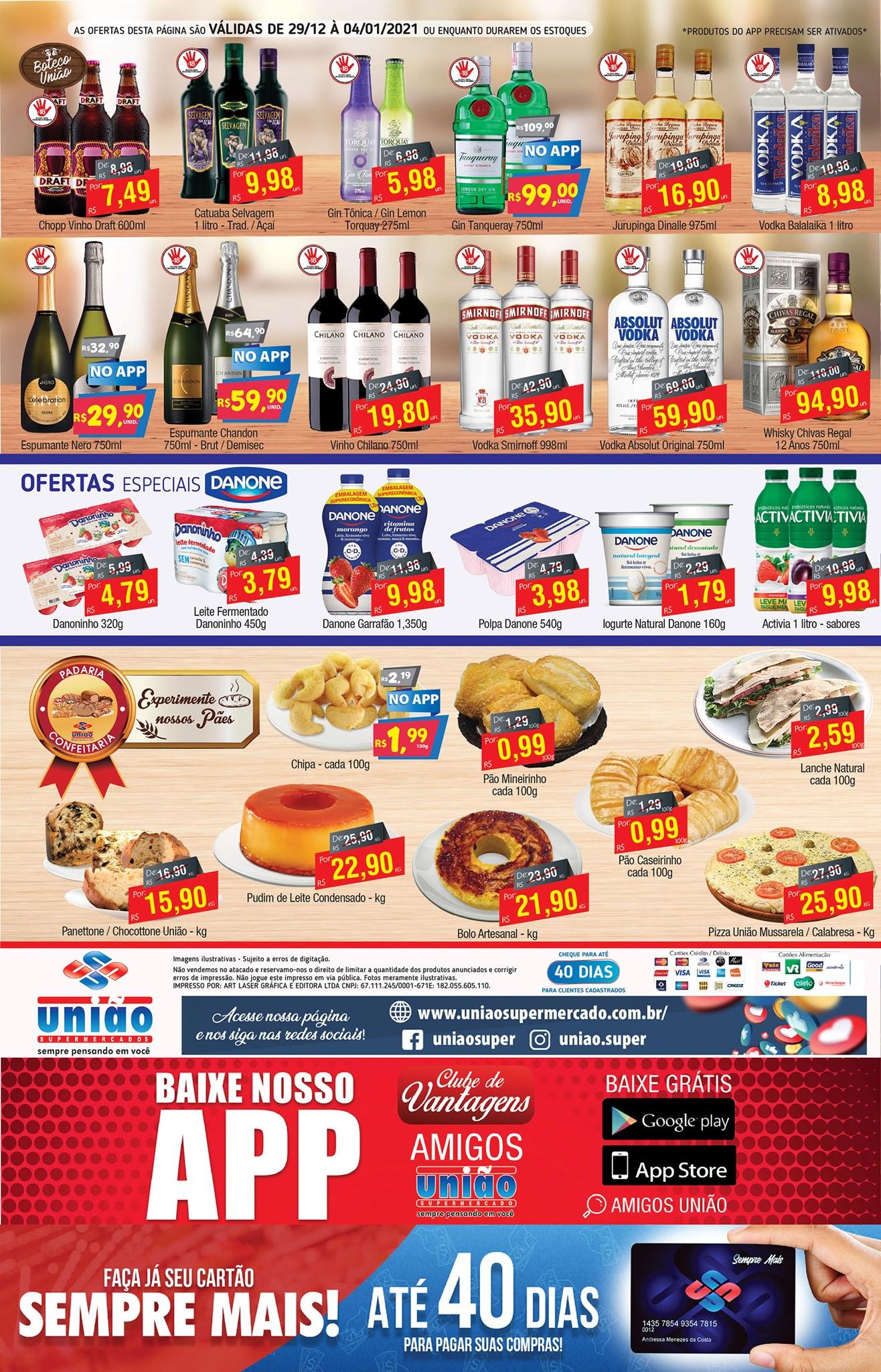 União Supermercados tem ofertas em bebidas, carnes e muito mais pro seu fim de ano