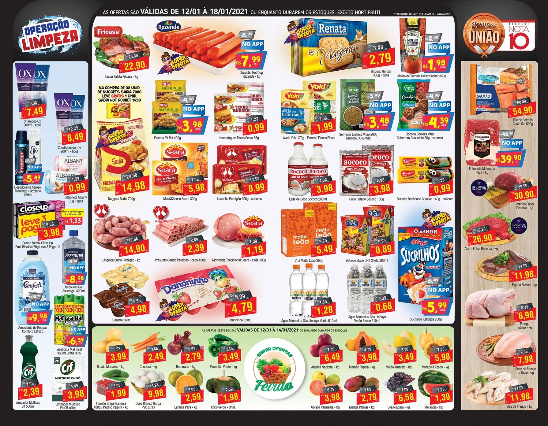 União Supermercados tem ofertas no açougue para a sua quinta-feira