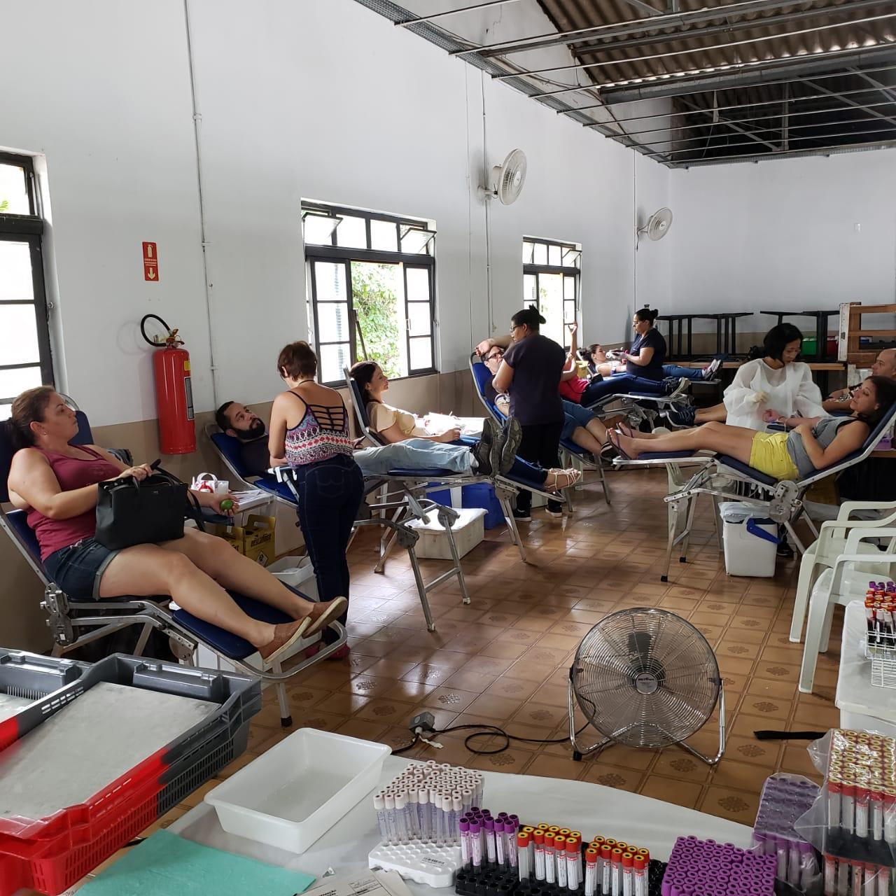 Coleta de Sangue de doadores voluntários acontece no dia 31 de março