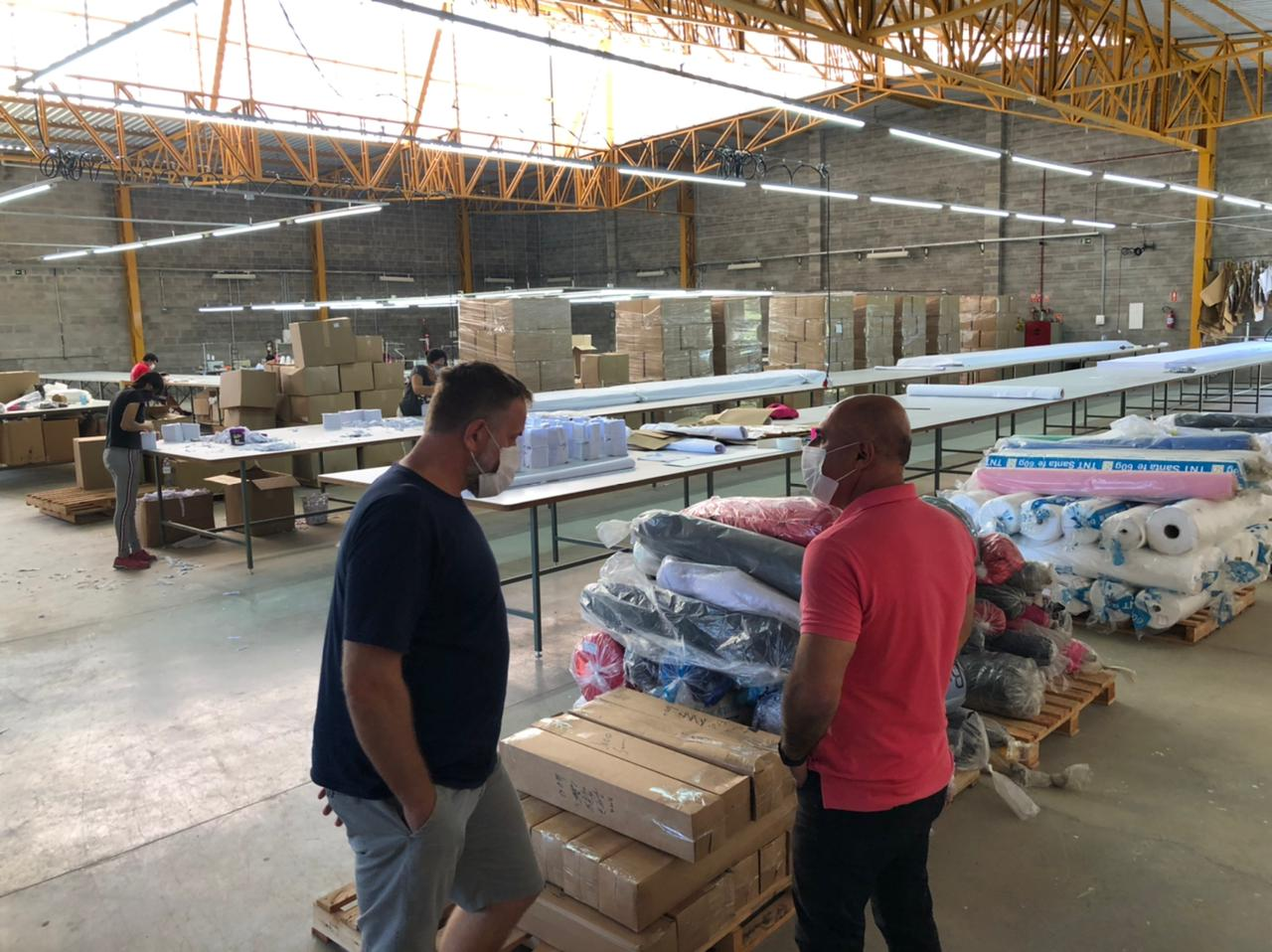 Recém-instalada no Distrito Industrial de Morungaba BJF Sports contrata trabalhadores
