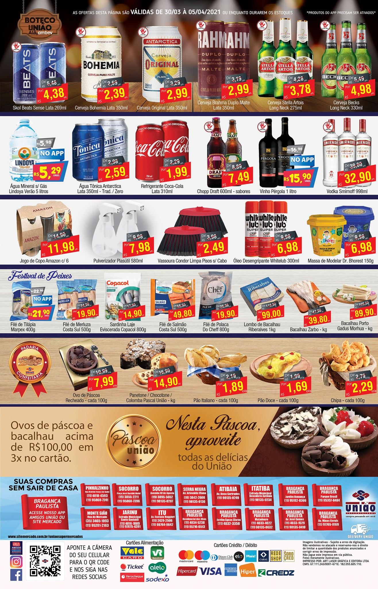 União Supermercados tem ofertas no açougue, bebidas, e muito mais para o fim de semana