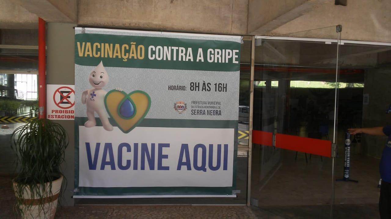 Vacinação contra a gripe tem início na segunda-feira