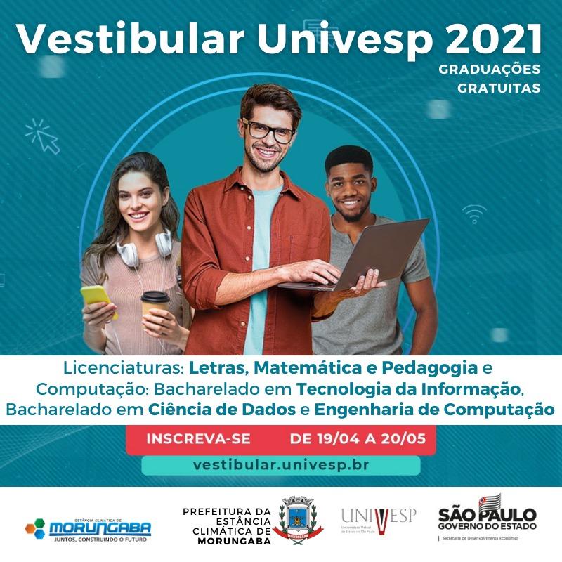 Polo da Univesp em Morungaba abre inscrições para vestibular de diversas graduações gratuitas