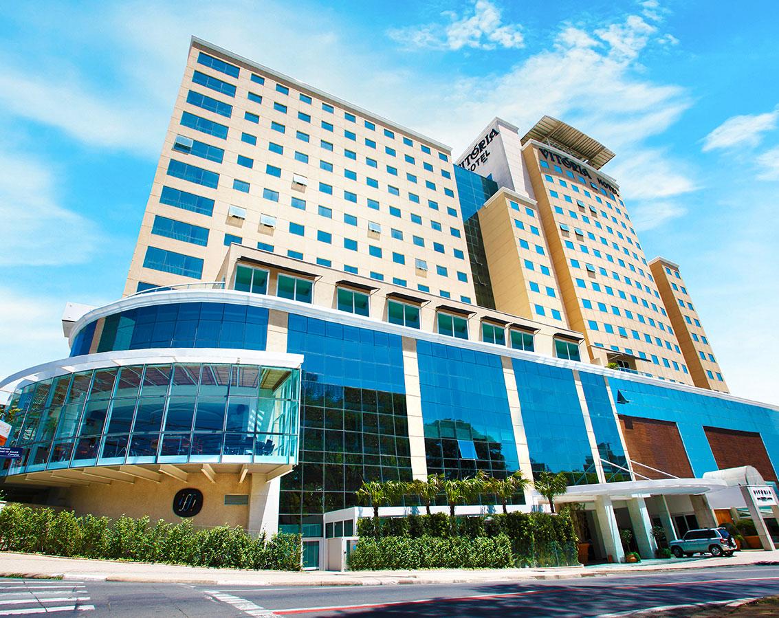 Rede Vitória Hotéis prepara reaberturas de academia, salas de eventos e restaurantes