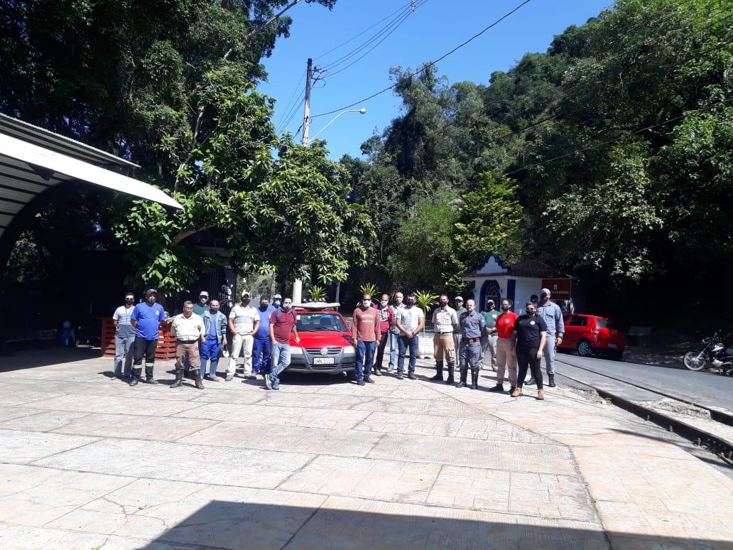 Monte Alegre do Sul está treinando brigada de incêndio