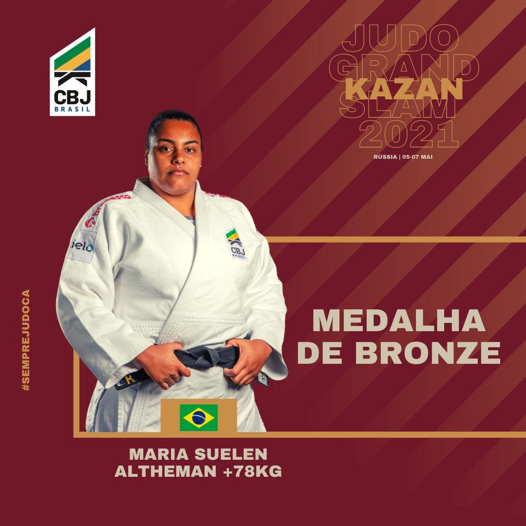 Maria Suelen Altheman é bronze na Rússia