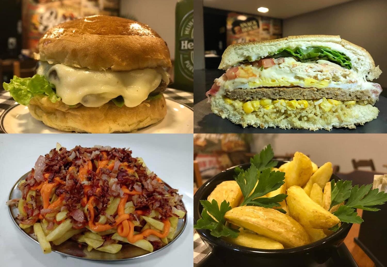 Snack House tem lanches, porções e bebidas no atendimento presencial e pelo delivery
