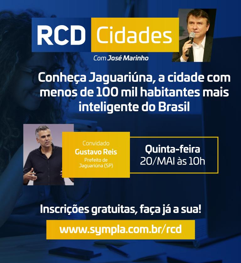 RCD Cidades traz o modelo da cidade mais inteligente do país com até 100 mil habitantes: Jaguariúna