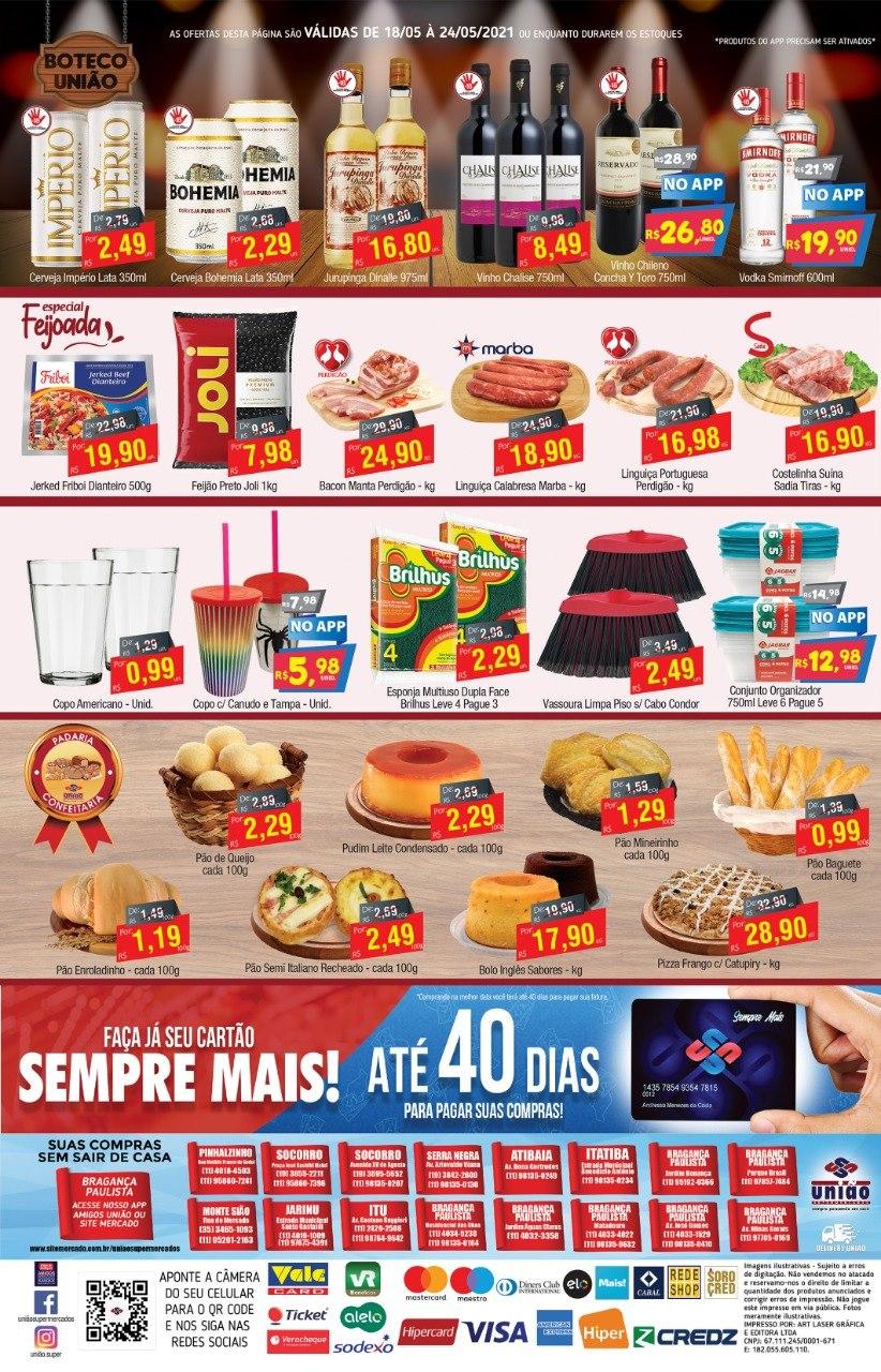 União Supermercados tem ofertas no açougue, bebidas e muito mais para o fim de semana