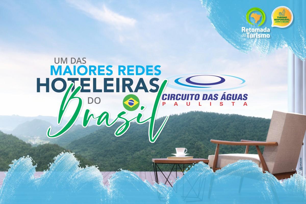 Circuito das Águas Paulista concentra uma das maiores Redes Hoteleiras do Brasil