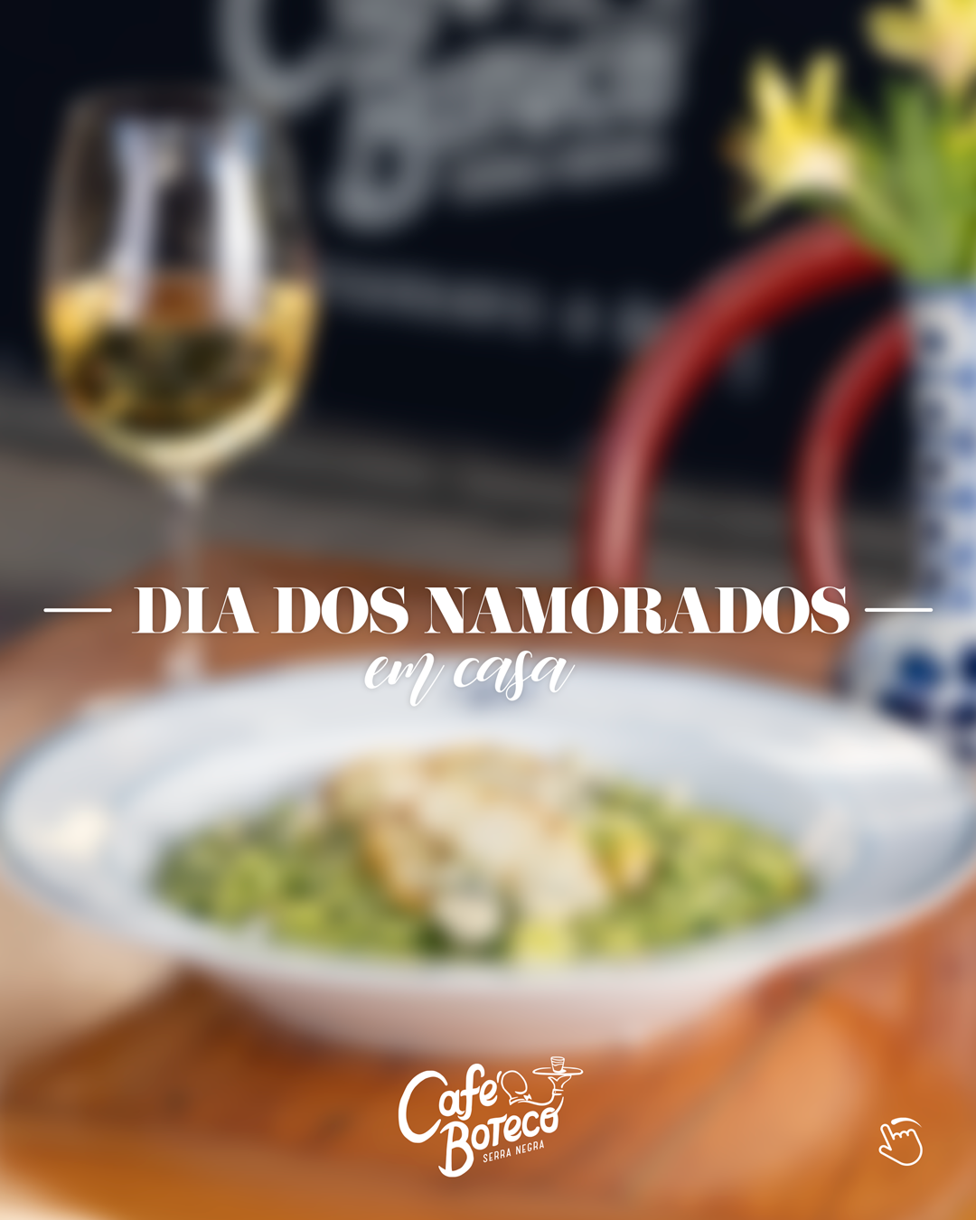 Café Boteco tem almoço, jantar e live de Dia dos Namorados - Em Casa