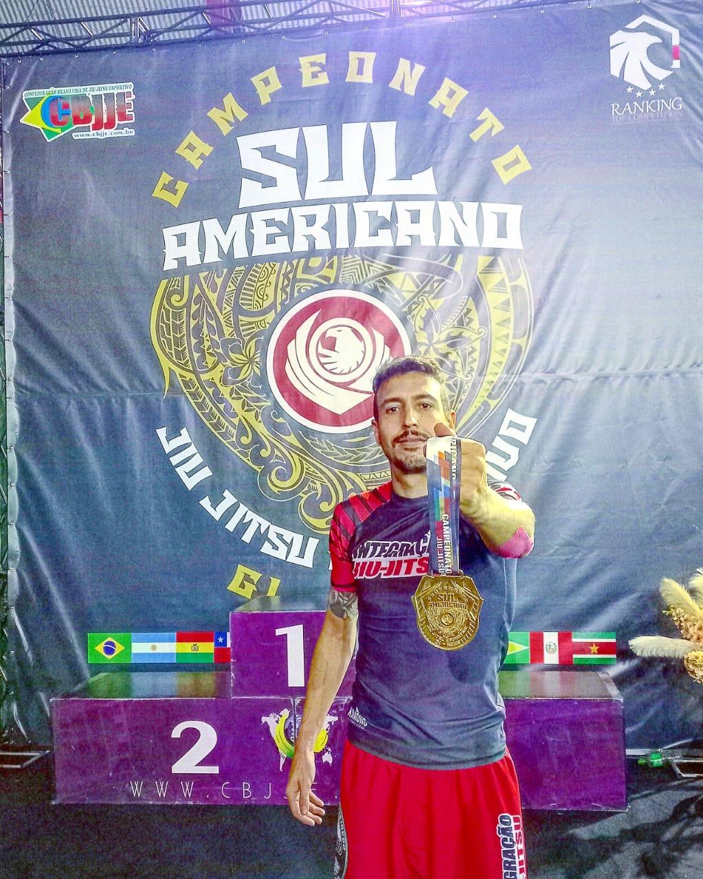 Cenora é campeão sul-americano de Jiu Jitsu
