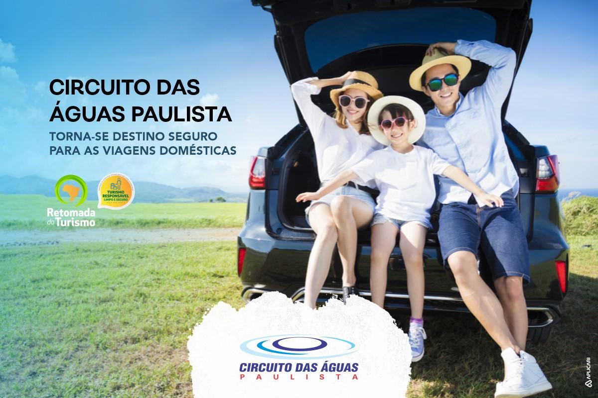 Circuito das Águas Paulista torna-se destino seguro para as viagens domésticas
