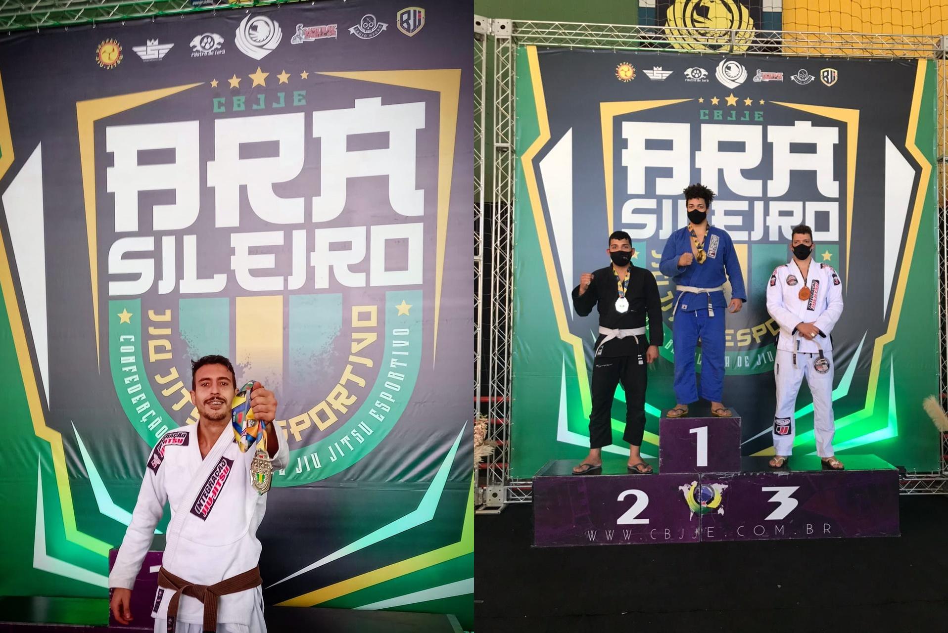 Serra-negrenses sobem no pódio pelo Brasileiro de Jiu Jitsu Esportivo