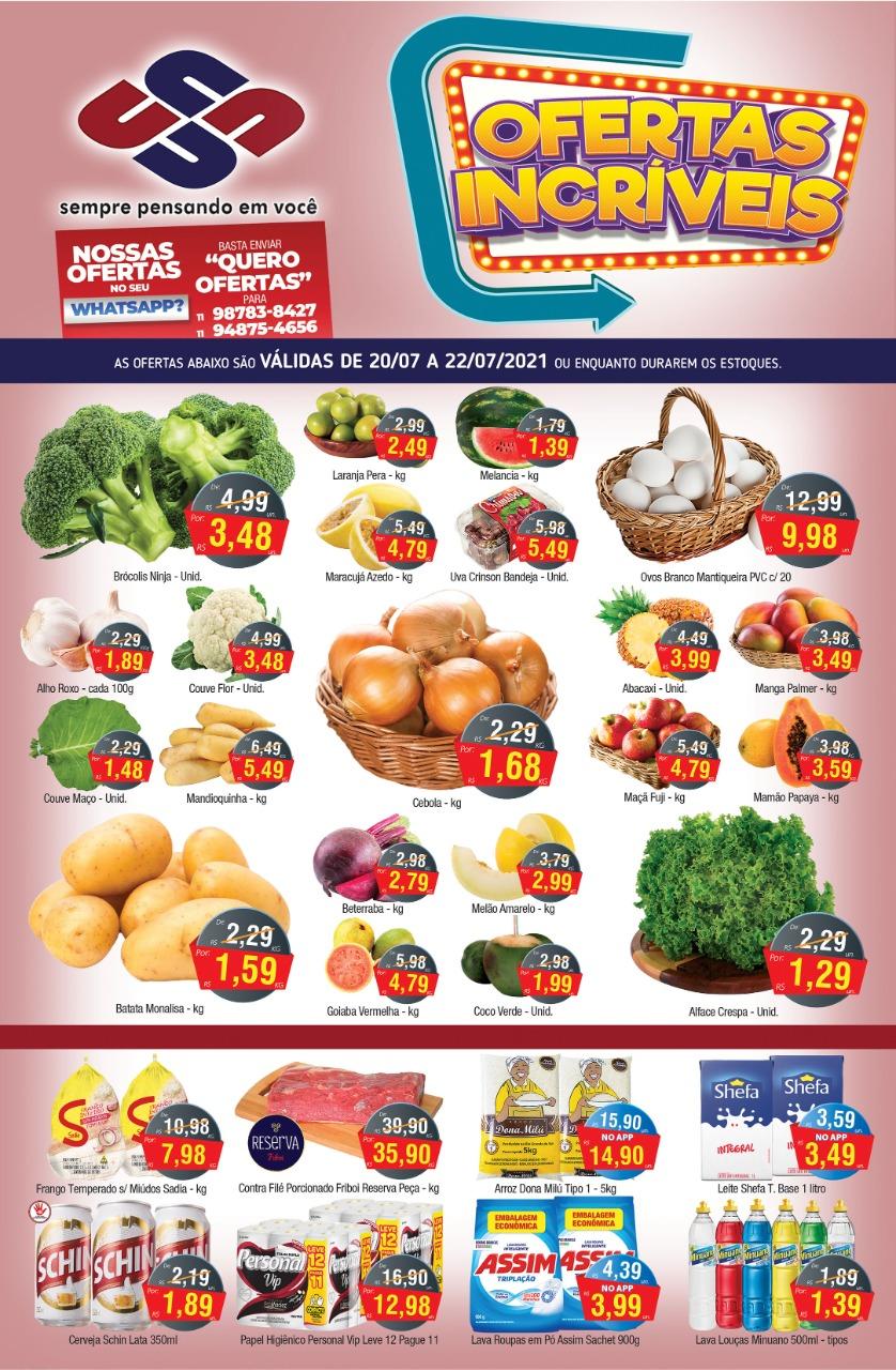 União Supermercados tem meio de semana com 50 ofertas