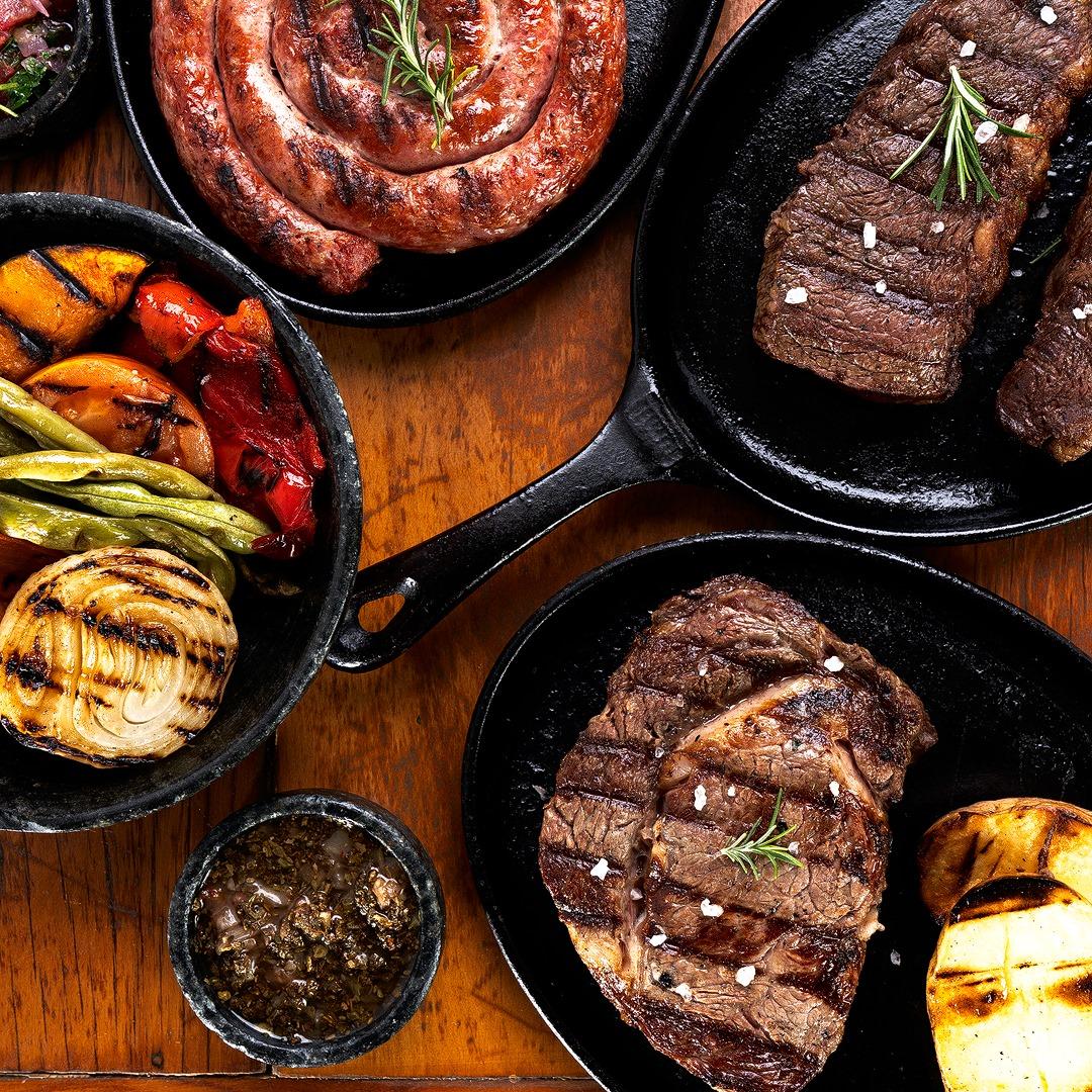 Parrilla Argentina do Café Boteco tem as melhores opções em carnes