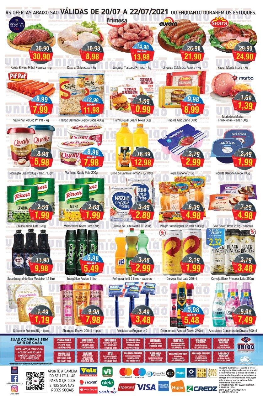 União Supermercados tem ofertas no açougue, embutidos, hortifrúti e muito mais para a sua quinta-feira
