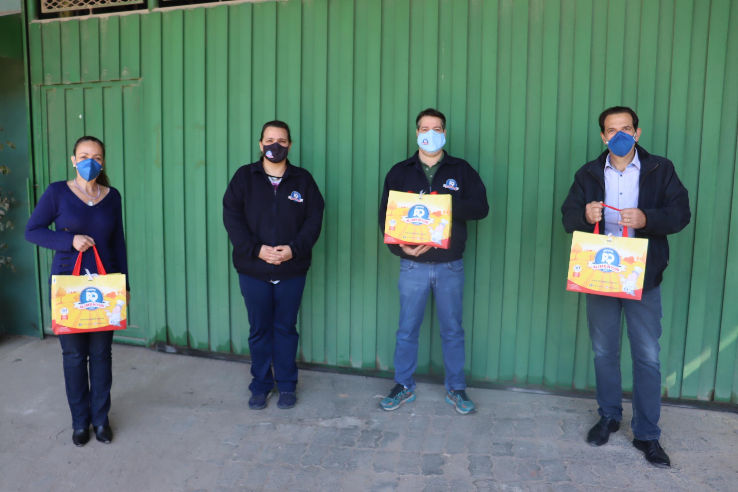 PQ Alimentos fez doação ao Fundo Social de Solidariedade