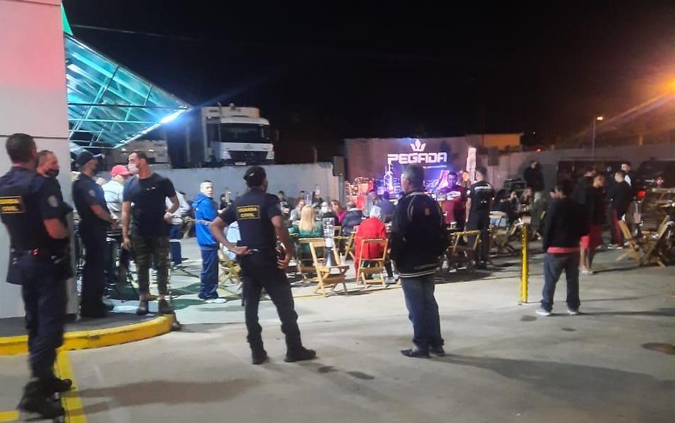 GCM de Amparo dispersa evento com mais de 200 pessoas