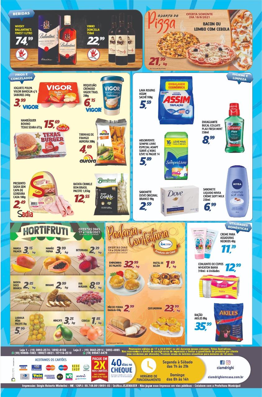 Ciamdrighi tem semana de mais de 40 ofertas em toda a loja