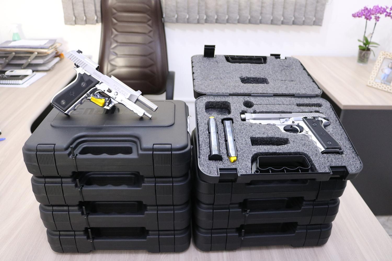 GCM de Itapira  recebe novas armas