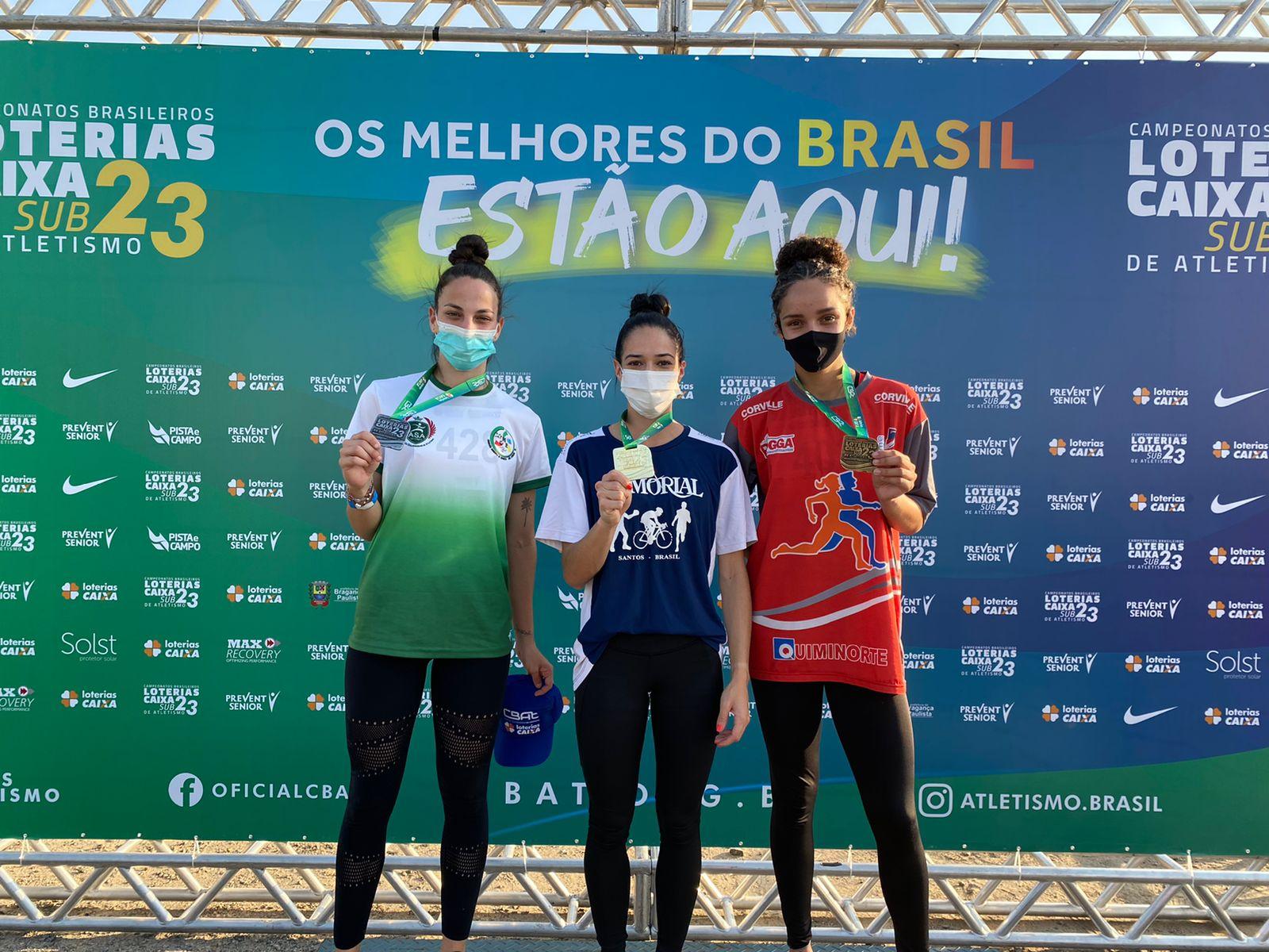 Pedreirense Thainá Fernandes é Campeã Brasileira de Salto em Distância