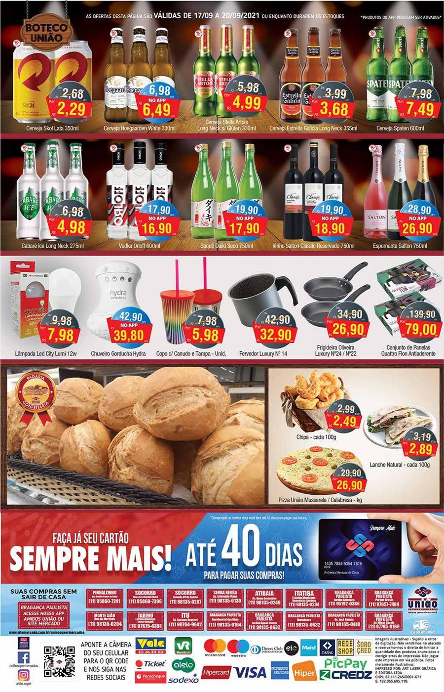 União Supermercados tem ofertas no açougue, bebidas e muito mais para o sábado
