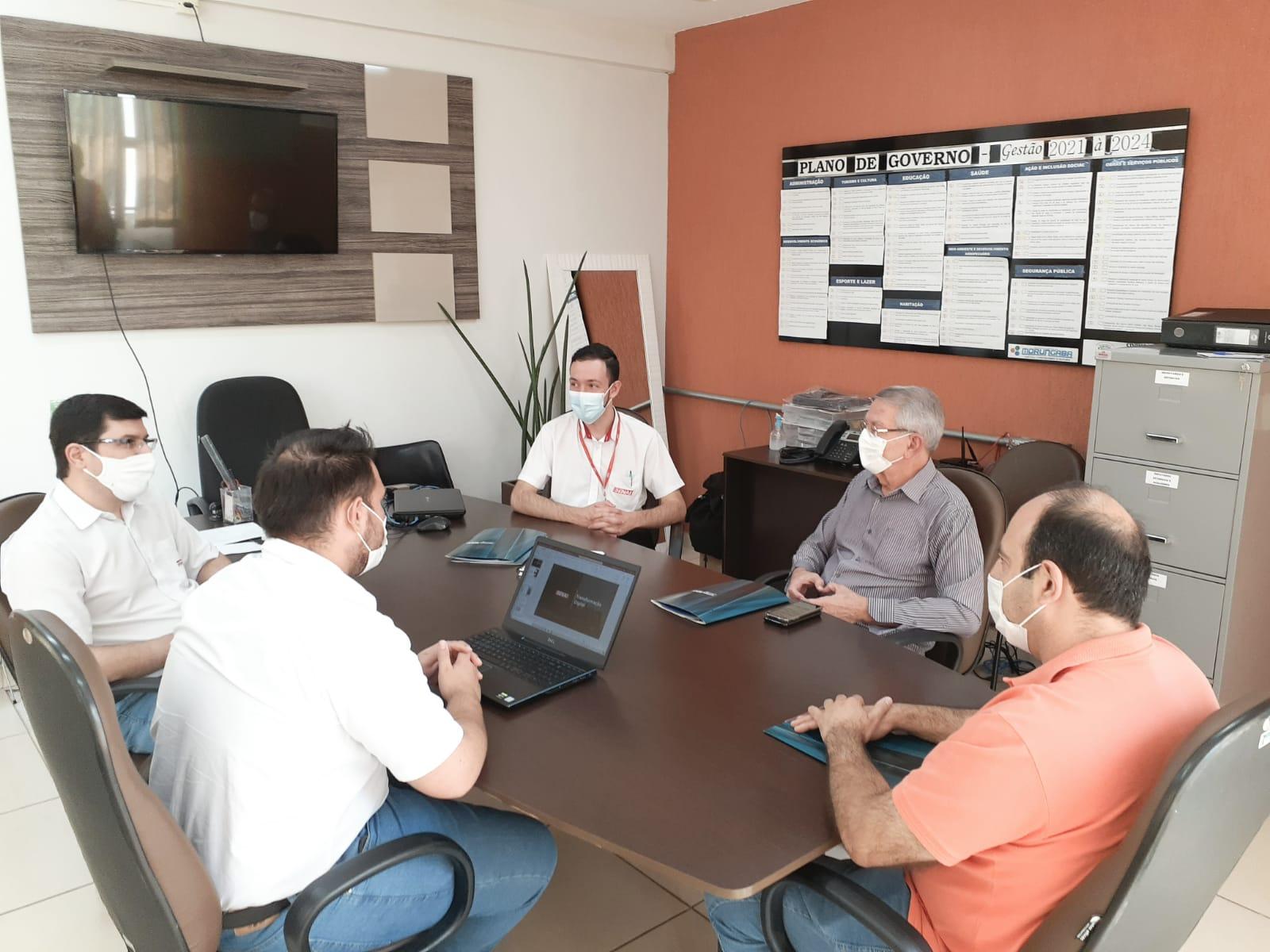 Prefeitura de Morungaba e Senai preparam parceria para gestão de projetos de engenharia