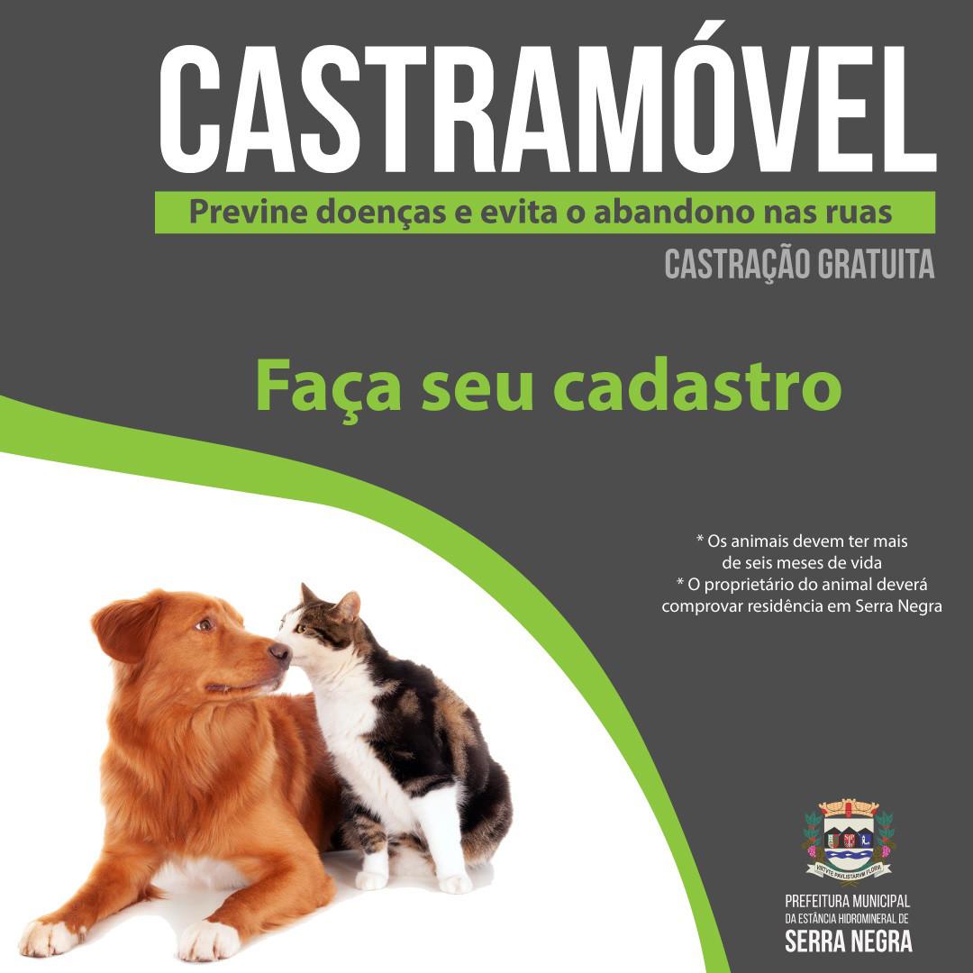 Castramóvel atenderá as regiões das Três Barras e bairro da Serra