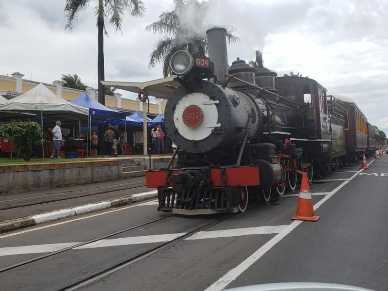 Prefeitura de Jaguariúna libera eventos e retomada da Maria Fumaça