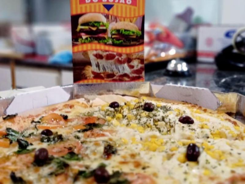 Bujão tem 45 sabores de pizzas, com bordas e muito mais