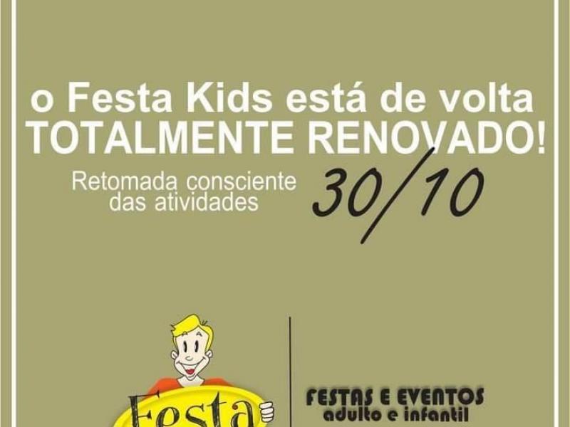Festa Kids está de volta com novidades para crianças e adultos
