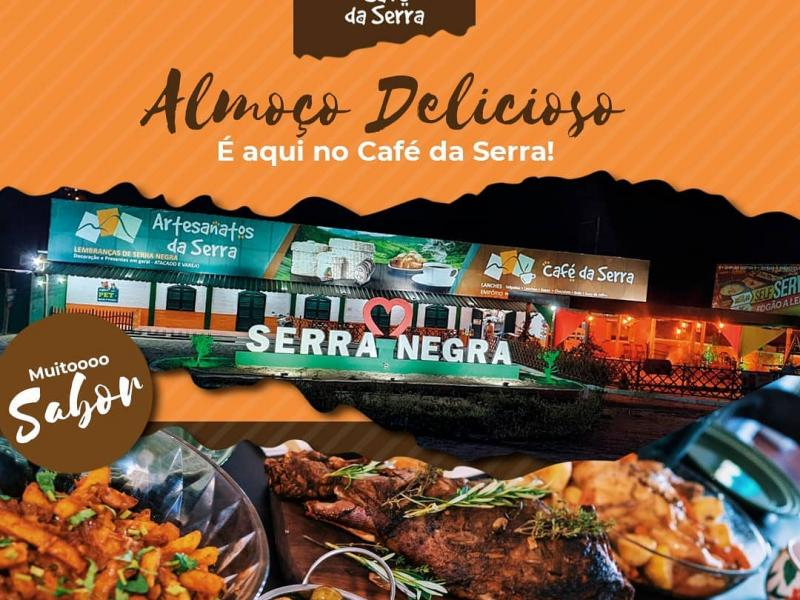 Domingo de almoço a la carte no Artesanatos e Café da Serra