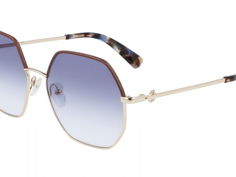 Longchamp Eyewear introduz novos óculos de sol inspirados na bolsa Amazone