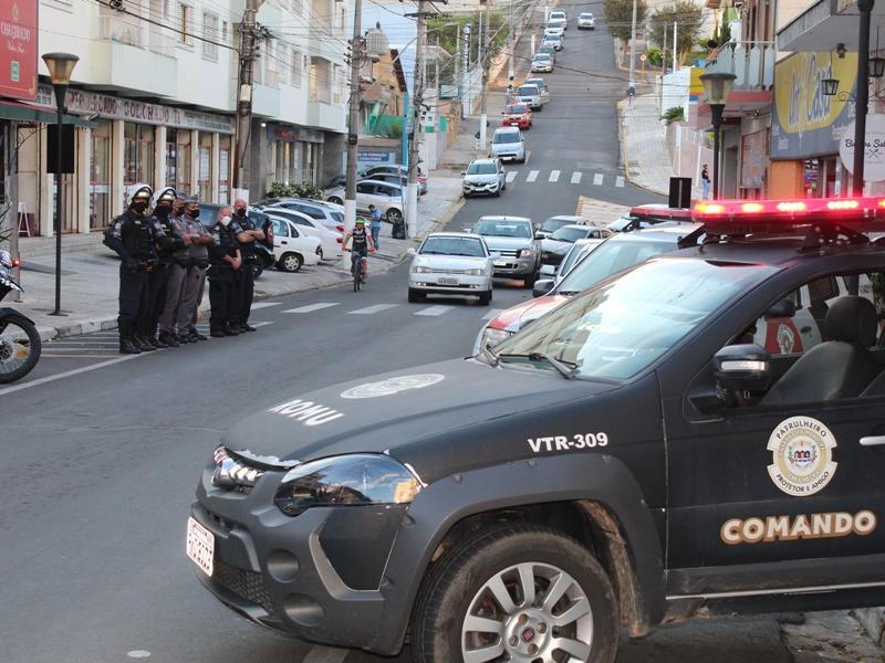 Segurança pública está entre as prioridades do município