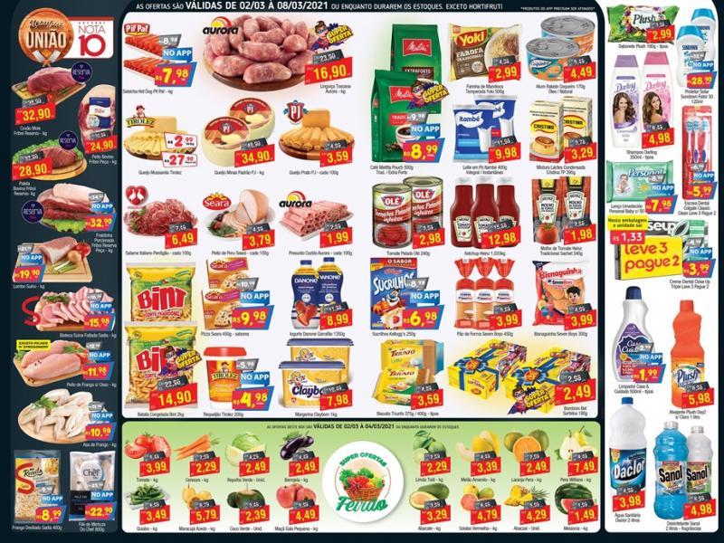 União Supermercados tem ofertas em hortifrúti para a quinta-feira