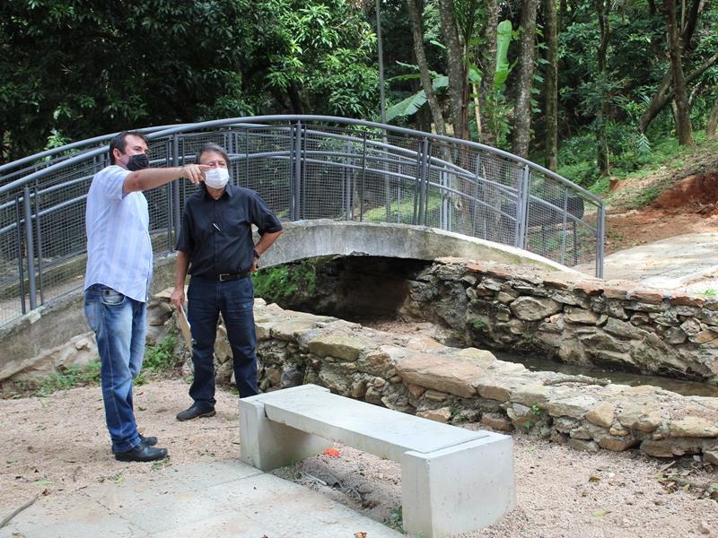 Obras de Turismo são fiscalizadas pela Secretaria de Estado