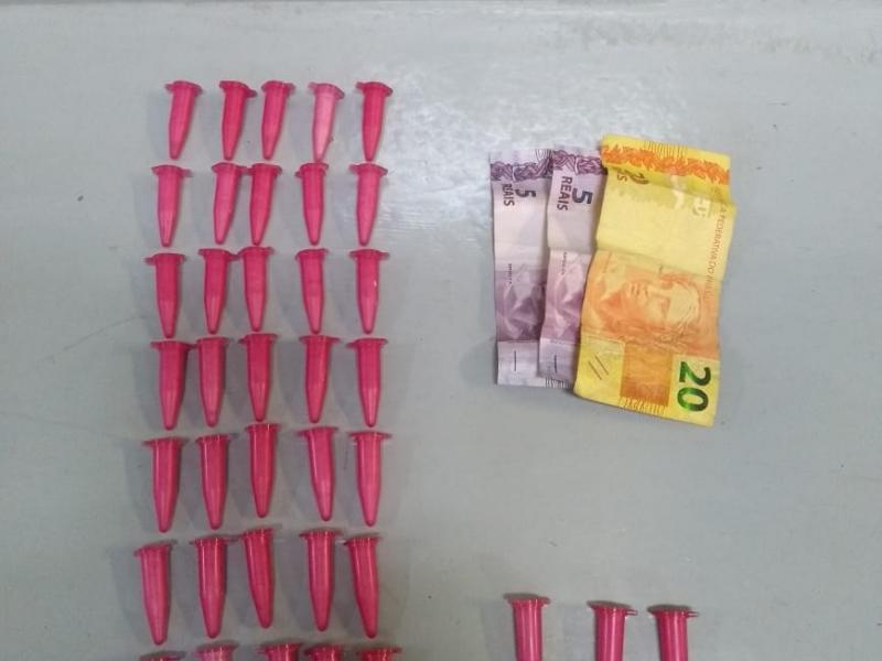 Homem é detido por tráfico de drogas, no São Dimas, em Amparo
